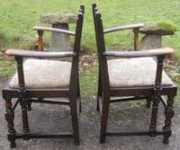Set of Six Dark Elm Dining Chairs by Ercol